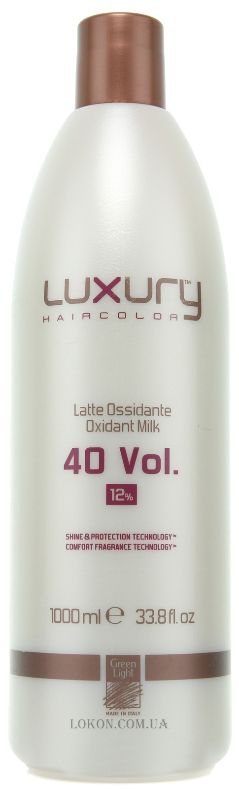 GREEN LIGHT Luxury Oxidant Milk 40 Vol. 12% - Молочный оксидант 40 Vol. 12%