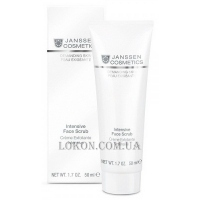 JANSSEN Demanding Skin Intensive Face Scrub - Интенсивный скраб для лица