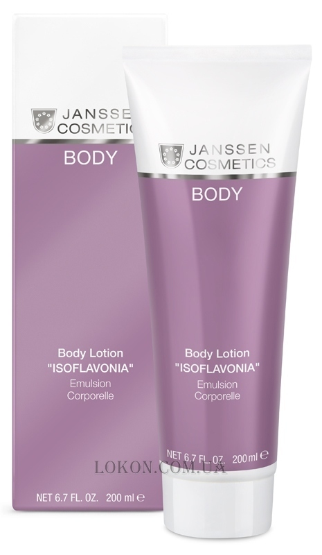 JANSSEN Body Isoflavonia Body Lotion - Лосьон для тела с фитоэстрогенами