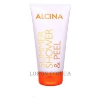 ALCINA Summer Shower & Peel - Гель-пилинг для душа