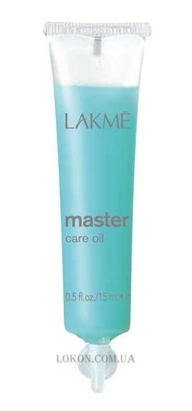 LAKME Master Care Oil - Масло для ухода за волосами