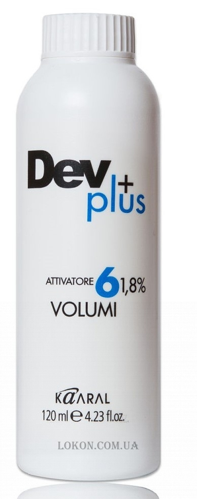 KAARAL Oxy Dev Plus 6 vol - Активатор 1,8%