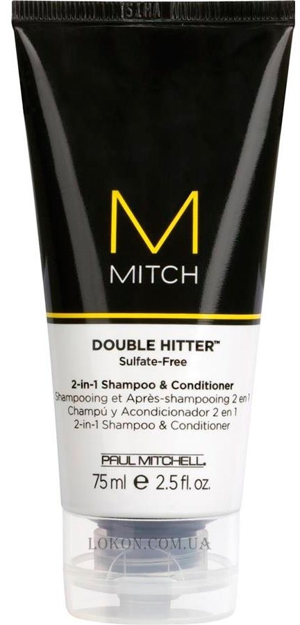 PAUL MITCHELL Mitch Double Hitter - Шампунь и кондиционер 2 в 1