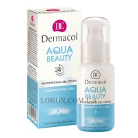DERMACOL Aqua Beauty Moisturizing Gel-Cream - Гель-крем увлажняющий