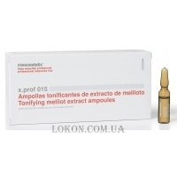 MESOESTETIC x.prof 015 Tonifying melitol extract ampoules - Экстракт Донника и рутин