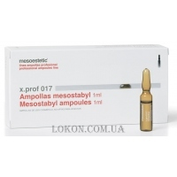 MESOESTETIC x.prof 018 Mesostabyl ampoules - Мезостабил