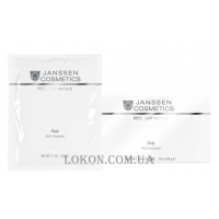 JANSSEN Peel off Masks Goji Anti Oxidant - Альгинатная anti-age восстанавливающая антиоксидантная ультраувлажняющая маска с облепихой и ягодами годжи