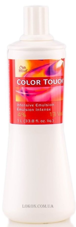 WELLA Color Touch Emulsion 4% - Окислитель 4%