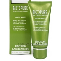 ERICSON LABORATOIRE Bio Pure Detox Maxx Anti-Pollution Mask - Очищающая маска