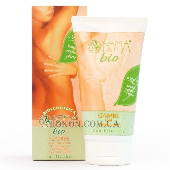 BEMA COSMETICI Bio Corpo Refreshing Gel for Legs - Гель для ног освежающий