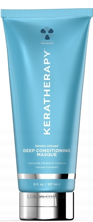 KERATHERAPY Keratin Infused Deep Conditioning Masque - Лечебная маска