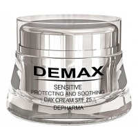 DEMAX Sensitive Protecting & Soothing Day Cream SPF-25 - Защитно-успокаивающий крем SPF-25