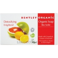 BENTLEY ORGANIC Detoxifying Soap Bar - Органическое мыло