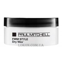 PAUL MITCHELL Firm Hold Style Dry Wax - Сухой воск