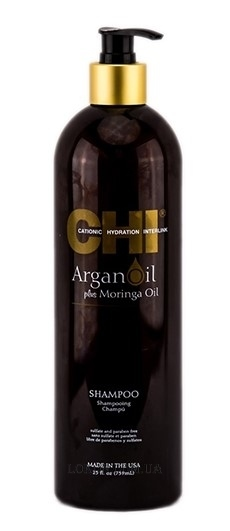 CHI Argan Oil Plus Moringa Oil Shampoo - Восстанавливающий шампунь