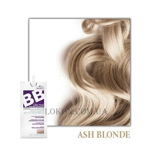 HAIR COMPANY Inimitable BB Color Ash Blonde - Тонирующая маска