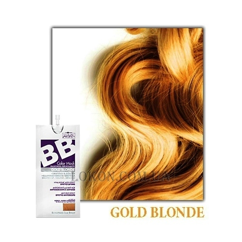 HAIR COMPANY Inimitable BB Color Gold Blonde - Тонирующая маска