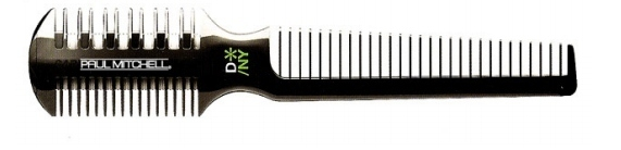PAUL MITCHELL Carving Comb Wide Tooth - Безопасная бритва-расчёска для волос