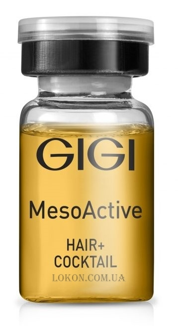 GIGI Mesoactive Hair+ Cocktail - Коктейль для роста волос
