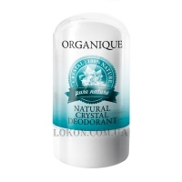 ORGANIQUE Pure Nature Natural mineral Сrystal Deodorant - Натуральный кристаллический минеральный дезодорант