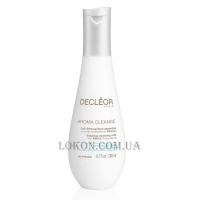 DECLEOR Aroma Cleanse Essential Cleansing Milk - Очищающее эссенциальное молочко для лица и век