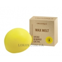 ORGANIQUE Wax Melt Lychee & Mango Cocktail - Ароматный тающий воск
