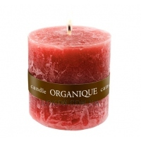 ORGANIQUE Candle Small Cylinder Red Currant - Ароматерапевтическая свеча