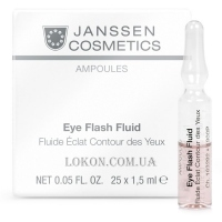 JANSSEN Ampoules Eye Flash Fluid - Ампулы для глаз