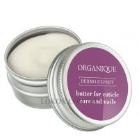 ORGANIQUE Dermo Expert Hand Spa Butter For Cuticle Care And Nails - Масло для ухода за кутикулой и ногтями
