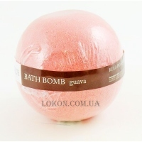 ORGANIQUE Effervescent Balls For Bath Guava - Шипучий шар для ванны