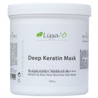 LISSA`O Keratin Hair Mask With Aloe Vera And Shea Butter - Кератиновая маска для волос с алое вера и маслом ши