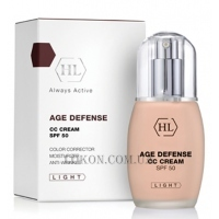 HOLY LAND Age Defense CC Cream SPF-50 Light - СС-крем (светлый)