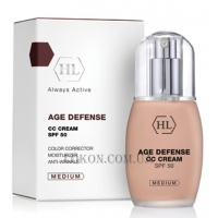 HOLY LAND Age Defense CC Cream SPF-50 Medium - СС-крем (средний)