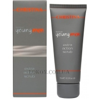 CHRISTINA Forever Young Men Extra Action Scrub - Скраб для мужчин