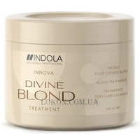 INDOLA Divine Blond Treatment - Восстанавливающая маска для светлых волос