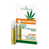 CANNADERM Cannadent Dental Serum - Восстанавливающая сыворотка