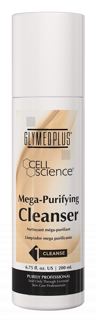 GLYMED PLUS Cell Science Mega-Purifying Cleanser - Очищающие сливки