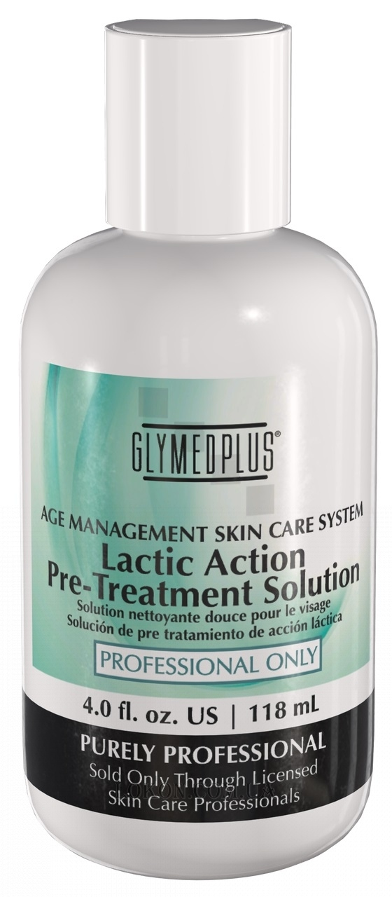 GLYMED PLUS Professional Use Only Lactic Action Pre-Treatment Lotion - Молочный предпилинговый лосьон