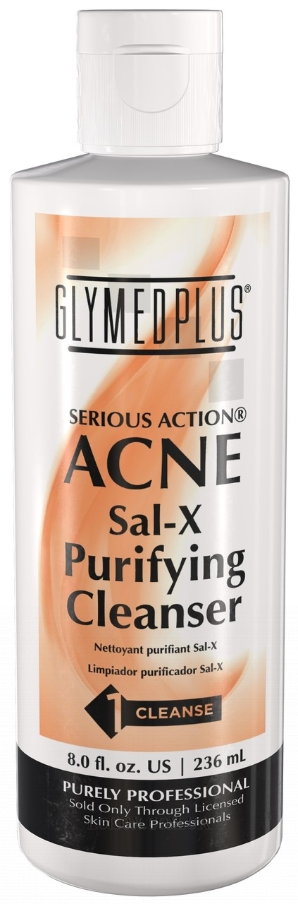 GLYMED PLUS Serious Action Sal-X Purifying Skin Cleanser - Очищающее средство Sal-X