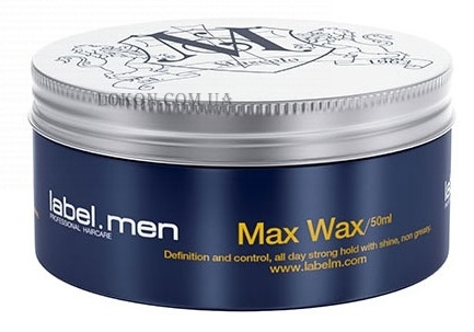 LABEL.M Men Max Wax - Воск