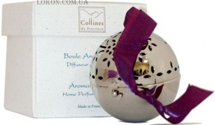COLLINES de PROVENCE Home Perfume Diffuser Aromatic Ball Rose - Интерьерный ароматизатор