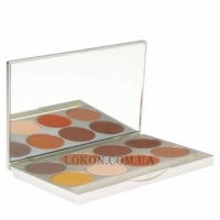 GRAFTOBIAN HD Brow Powder Palette - Палитра пудры для бровей (8 оттенков)