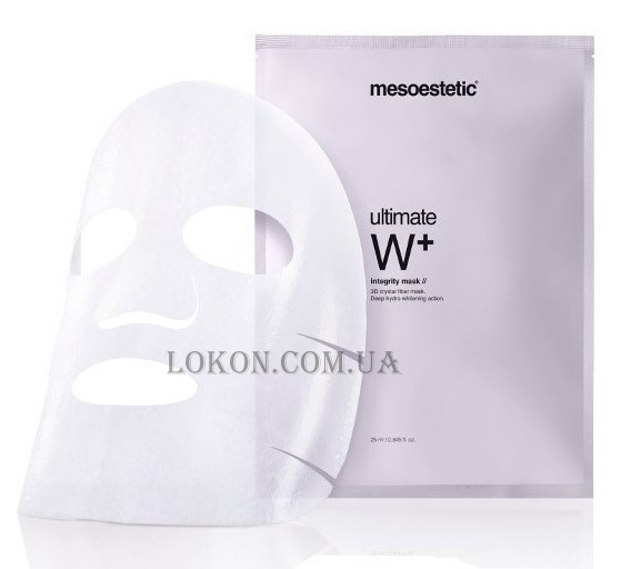 MESOESTETIC Ultimate W+ Integrity Mask - Осветляющая маска