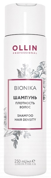 OLLIN BioNika Shampoo Hair Density - Шампунь