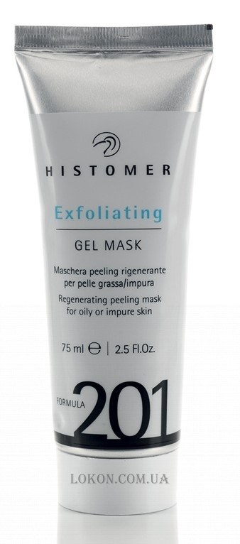 HISTOMER Formula 201 Exfoliating Gel Mask - Гелевая маска-эксфолиант