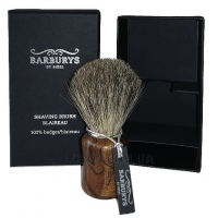 "BARBURYS Shaving Brush ""Grey Walnut"" - Кисть для бритья ""Grey Walnut"""