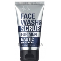 MADES Nautic for Men Face & Wash Scrub - Скраб для лица