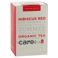 CARE TEA Hibiscus Red Organic Tea - Травяной тизан