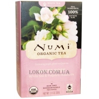 NUMI Organic Tea White Rose - Белый чай