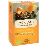 NUMI Organic Tea Orange Spice - Белый чай